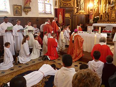 La formation des séminaristes
